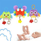 Baby Infant Rattles Bed Soft Doll Stroller Plush Animal Music Hanging Bell Toy