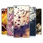 HEAD CASE DESIGNS FLORAL DRIPS SOFT GEL CASE FOR HUAWEI PHONES