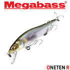 Assorted Colors MEGABASS ONETEN R 14 g Slow Floating Minnow