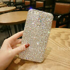 New Rhinestone Bling Gril's Diamond Jeweled Crystal Hard Back Phone Case Cover