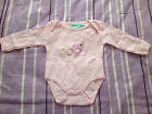 NEW***CHEROKEE® Baby GIRLS Cotton One Piece***Pink***3-6 month or 6-9 month