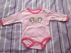 NEW***CHEROKEE® Baby GIRLS Cotton One Piece**Pink**0-3month,3-6month or 6-9month