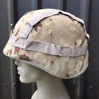 LUXEMBOURG ARMY SURPLUS ISSUE DIGITAL DESERT HELMET COVER,LUX VERY RARE CAMO