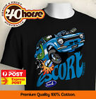 KIDS Ford Shirt - MK1 Escort Blue (Black or White)