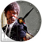 S-928 CD CLOCK-PULP FICTION-DESK OR WALL CLOCK-FAST FREE SHIPPING-BUY IT NOW