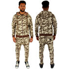 Streetwear Sixth June Desert Camouflage Slim Fit Full Zip Tracksuit