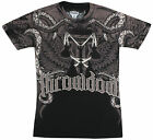 Throwdown Overkill T-Shirt (Black/Tan/Red)