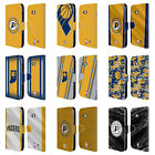 OFFICIAL NBA INDIANA PACERS LEATHER BOOK WALLET CASE FOR MICROSOFT NOKIA PHONES