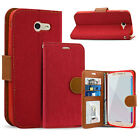 Luxury Wallet Credit Card Holder Case For Samsung Galaxy J7 Prime / Perx / Halo