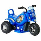 NEW Paw Patrol 6V Electronic Bike Kids Ride On Toy - Sky / Chase