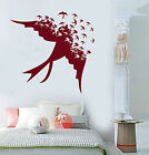 Vinyl Wall Decal Songbird Flock of Birds Swallow Stickers