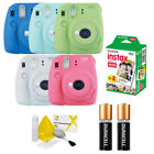 Fujifilm instax mini 9 Fuji Instant Film Camera All Colors + 20 Prints VALUE KIT
