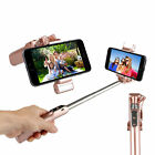 Bluetooth Selfie Stick with LED Flash Light & Mirror for iPhones Android Phones