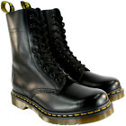 Mens Dr Martens Classic 1490 Black Vintage Leather Lace Up Ankle Boot All Sizes
