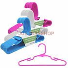Children Plastic Bar Hangers For Baby Kids Clothes Coat Skirt 29cm Boys&Girls