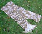UK BRITISH ARMY SURPLUS ISSUE DESERT DPM WINDPROOF COMBAT TROUSERS SG & G1-SAS