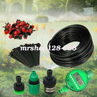 25m Micro Drip Irrigation Plant Self Watering System Yard Manual/Automatic/Timer