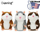 Adorable Toy Mimicry Pet Speak Talking Record Hamster Mouse Plush Kids Toy Gift