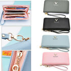Women Zipper Fashion Long Purse Ladies Clutch Coin Phone Bag Wallet Card Holder