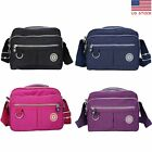 Women Nylon Handbag Ladies Soft  Shoulder Tote Purse Crossbody Messenger Bags