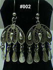 Hallmark Egypt Египет Ägypten,Authentic,Bedouin Siwa Silver Earrings,variety