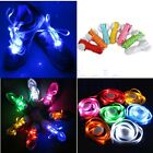 Colorful LED Luminous Flash Shoelaces Glow Nylon Shoe Laces Light Up Strap  WS