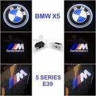 2x BMW X5 CREE LED PROJECTOR CAR DOOR LIGHTS SHADOW PUDDLE COURTESY LASER M LOGO