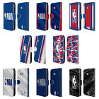 OFFICIAL NBA LOGOMAN LEATHER BOOK WALLET CASE COVER FOR MICROSOFT NOKIA PHONES