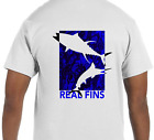 Dry Blend UPF Tuna Marlin Short Sleeve Microfiber Fishing T-Shirt Athletic Fit
