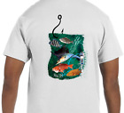Real Fins Fishing Snapper Marlin Snapper Grouper Reef T-Shirt Short Sleeve