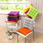 2/4/6/8/10X Seat Mat Pad Cushion Chair With Tie On Chunky Armchair Garden Relax