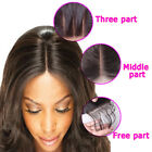 Hand-Tied Lace Closure Invisible Brazilian Human Remy Hair Extension Hairpiece