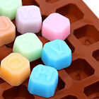 Silicone Chocolate Moulds Candy Cool Unique Shape maker Jelly Ice Cube Mold Tray