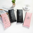 1x PU Pencil Pen Case Cosmetic Makeup Bag Storage Pouch Purse for School Hot