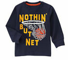 NWT Gymboree MIX N MATCH Blue Nothin But Net Basketball Shirt FREE US SHIP NEW