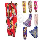 Fashion Women Lady Butterfly Sunflower Long Wrap Shawl Chiffon Scarf WJ0152