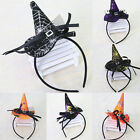 6PCS/1PC Halloween Party Witch Cap Hat Spider Party Props Headbands Accessories