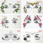 Fashion Eyes Temporary Tattoo Face Make-Up DIY Art Stickers for Party Night Club $0.99 USD on eBay