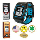 GolfBuddy WT5 Golf GPS/Rangefinder Watch + Titleist PRO V1 or V1X + Ball Marker