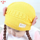 Infant Hats Baby Winter Knitted Caps Crochet Hat Handmade Beanie Toddler Caps