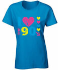 Women's I Love The 90's Shirts T shirts Tops  for 90's Fans