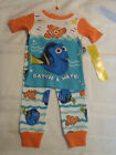 Disney 2T 4T Choice Finding Dory Cotton Pajama Sleepwear Set NWT