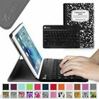 Slim Bluetooth Keyboard Leather Case Cover For Apple Ipad Mini 4 A1538 / A1550
