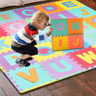 36pcs LARGE Alphabet Numbers EVA Floor play Mat Baby Room Jigsaw ABC foam Puzzle