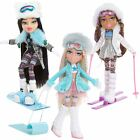 Bratz Snowkissed Doll Cloe Yasmin Jade Sledge Skis Snowboard Fur Fashion Girls