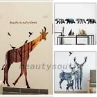 Animal Vinyl Wall Sticker Decal Kids Baby Room Nursery Home Decor DIY