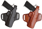 TAGUA LEATHER BELT HOLSTER W/ THUMB BREAK - CHOOSE COLOR & GUN MODEL