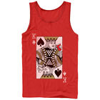 Lost Gods King of Beer Pong Mens Graphic Tank Top