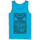 Lost Gods Elephant Tribal Print Mens Graphic Tank Top