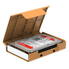 """Anti-Shock 3.5"""" HDD Flip On Case Protective Box for 7/9.5/12.5mm Hard Drive Disk"""